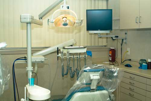 Our Treatment Room Here At Dumont Dentist Office
